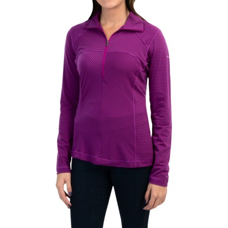 Columbia Sportswear Layer First Shirt - UPF 15, Neck Zip, Long Sleeve (For Women)