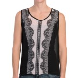 Scully Lace Trim Tank Top (For Women)
