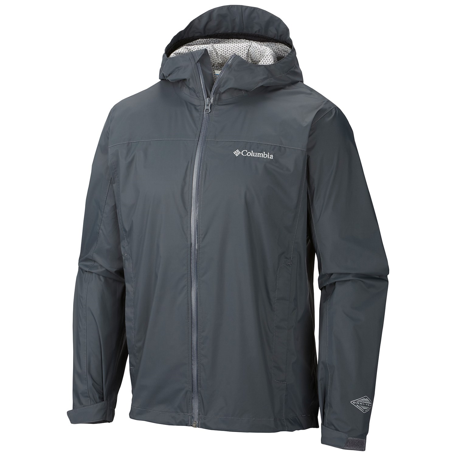 Columbia Sportswear EvaPOURation Omni-Tech® Rain Jacket ...
