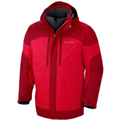 Columbia Sportswear Summit Crest Omni-Heat® Interchange Jacket - 3-in-1, Waterproof (For Men)