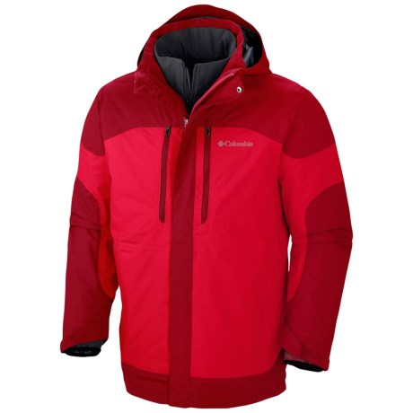 Columbia Sportswear Summit Crest Omni-Heat® Interchange Jacket - 3-in-1, Waterproof (For Men)