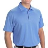 Fairway & Greene Solid Tech Polo Shirt - Short Sleeve (For Men)
