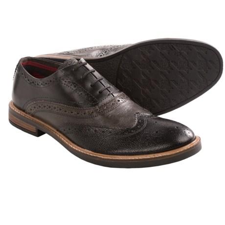 Ben Sherman Brent Wingtip Oxford Shoes - Leather (For Men)