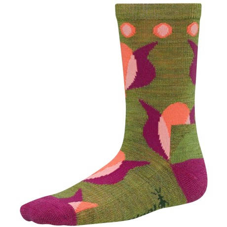 SmartWool Tulip Socks - Merino Wool, Crew (For Girls)