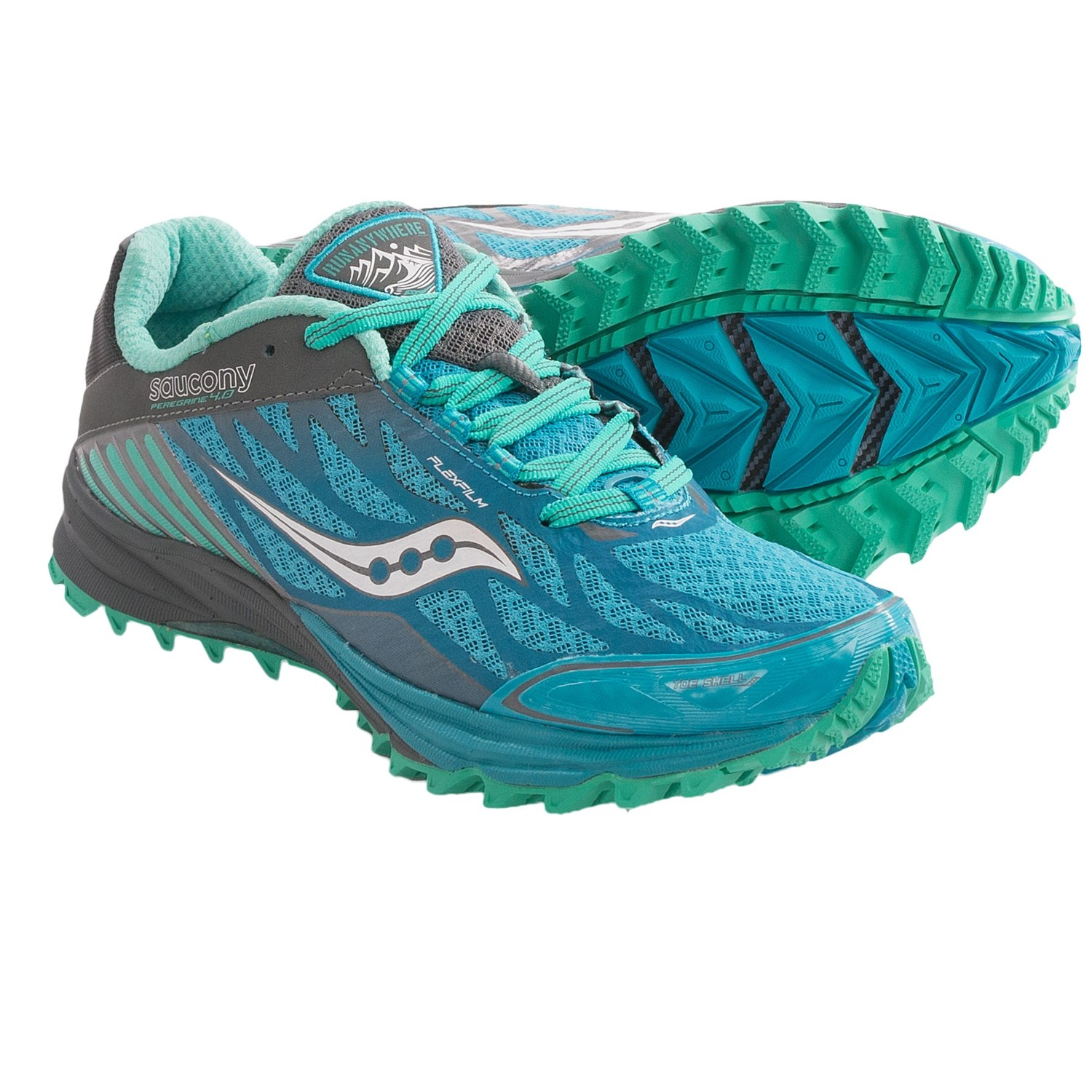Submit Your Own Image · Saucony Peregrine 4 Trail Running Shoes (For Women