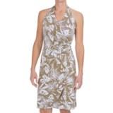 Tommy Bahama Linstead Leaves Halter Dress - Sleeveless (For Women)