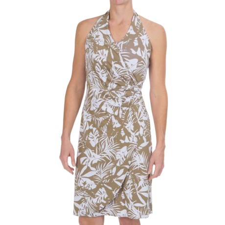Tommy Bahama Linstead Leaves Halter Dress - Sleeveless (For Women)