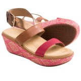 Vionic with Orthaheel Technology Cancun Wedge Sandals (For Women)