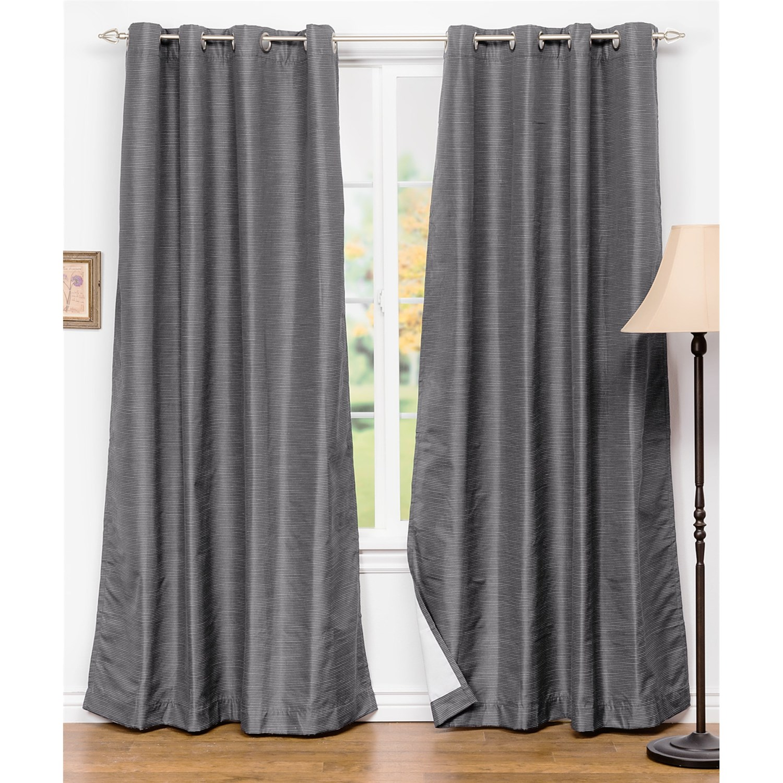 United Curtain Co Brighton Curtains 108x84 Grommet