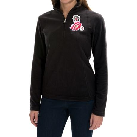Bogner Marna Fleece Shirt - Zip Neck, Long Sleeve (For Women)