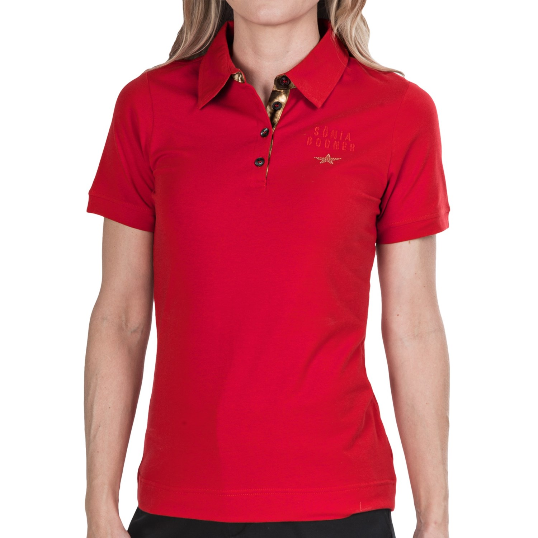 Black Golf Shirt Golf Polo Shirt Short
