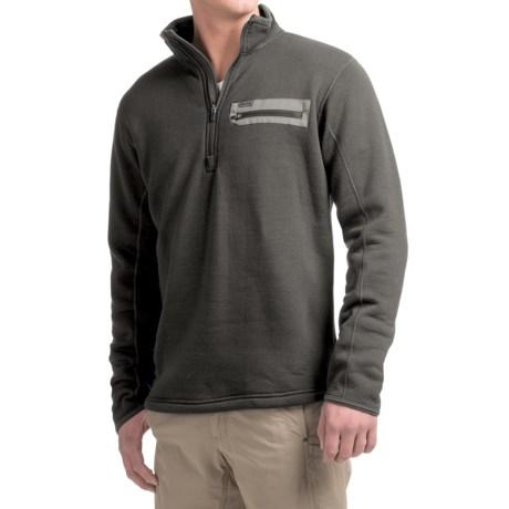 Simms Montana Techwool Fleece Shirt - Zip Neck, Long Sleeve (For Men)