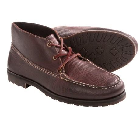 Buffalo Jackson Dakota Bison Leather Ankle Boot (For Men)