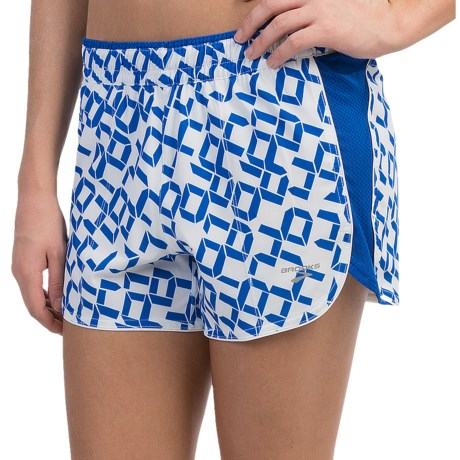 Brooks Epiphany Stretch Shorts - Built-In Brief (For Women)