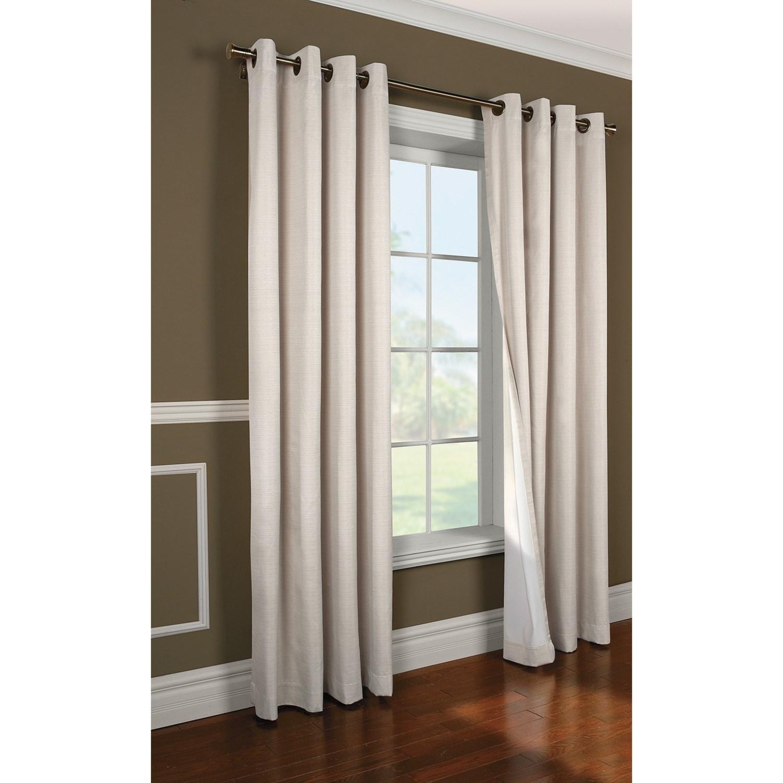 Decor Design Villamora Blackout Curtains 108x84 Grommet Top Insulated 8279r Save 33