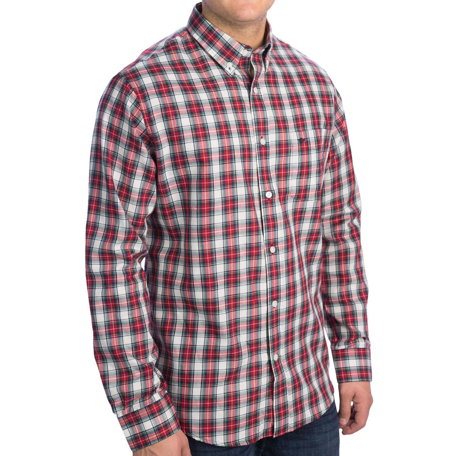 Dockers soft no wrinkle plaid shirt for men 8282r save 70 for Dockers wrinkle free shirts