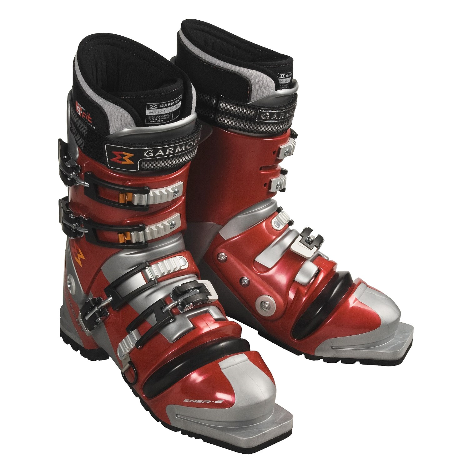 garmont ener g telemark ski boots with g fit liner for