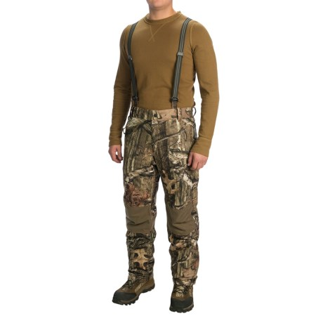 Browning Hell's Canyon PrimaLoft® Bib Overalls - Waterproof, Insulated (For Big Men)
