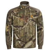 Browning Hell's Canyon High-Performance Fleece Jacket - Zip Neck (For Big Men)