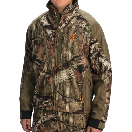 Browning Hell's Canyon Jacket - Soft Shell (For Big Men)