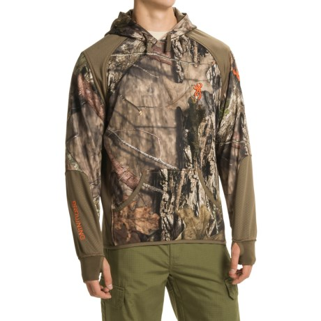 Browning Hell's Canyon High-Performance Fleece Hoodie (For Men)