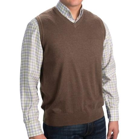 Pendleton Portland Sweater Vest - Merino Wool (For Men)
