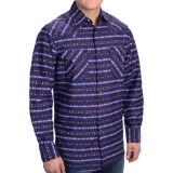 Pendleton Fitted Frontier Print Western Shirt - Snap Front, Long Sleeve (For Men)