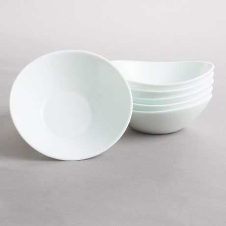 Bormioli Rocco Prometeo Small Bowls - Tempered Opal Glass, Set of 6