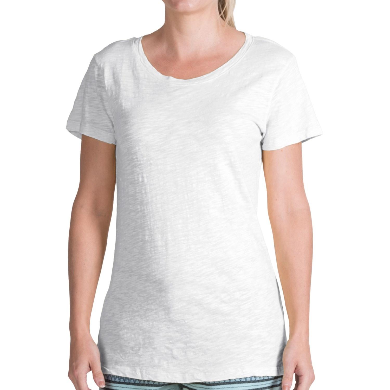 Dylan silky slub t shirt for women 8334p save 84 for What is a slub shirt