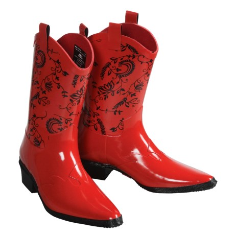 Roper Rubber Western Boots (For Women)
