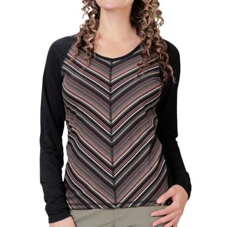 Royal Robbins Essential Stripe Shirt - UPF 50+, TENCEL®, Long Sleeve (For Women)