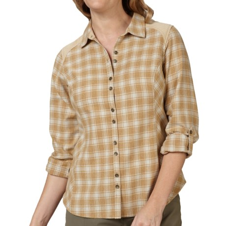 Royal Robbins Plaid Shirt - UPF 35+, Long Sleeve (For Women)
