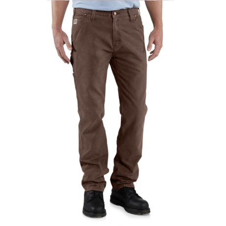 Carhartt Series 1889® Relaxed Fit Straight-Leg Work Dungarees - Factory 2nds (For Men)