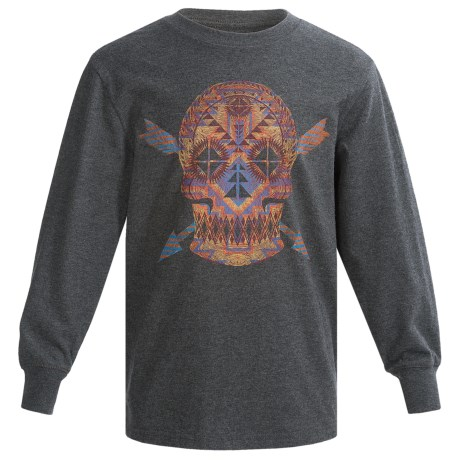 Graphic T-Shirt - Long Sleeve (For Big Boys)