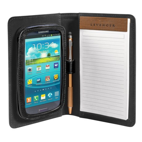Levenger Samsung S III Work & Play Folio