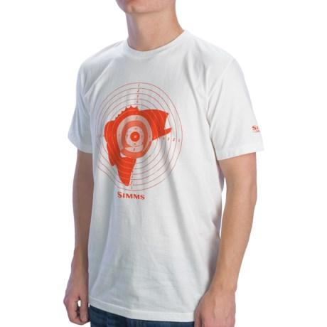 Simms Bass Hunter T-Shirt - Short Sleeve (For Men)