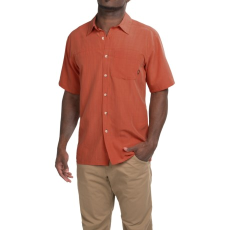 Simms Long Haul Shirt - UPF 30, Short Sleeve (For Men)