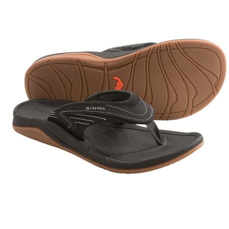 Simms Atoll Sandals - Flip-Flops (For Men and Women)