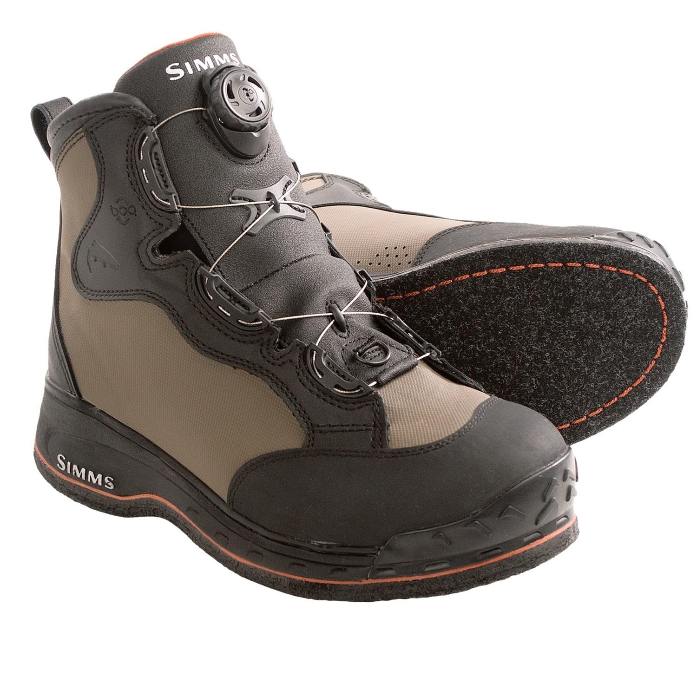 Simms Rivertek Boa 174 Wading Boots For Men And Women