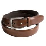 Reward Glazed Feather Edge Belt - Full-Grain Leather (For Men)