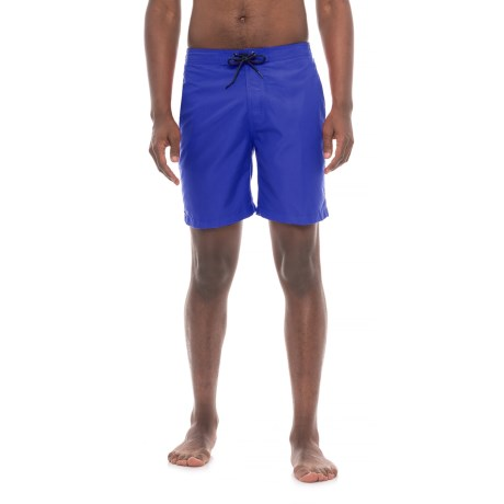 "Trunks Surf & Swim Co Swami Solid Swim Trunks - 8"" (For Men)"