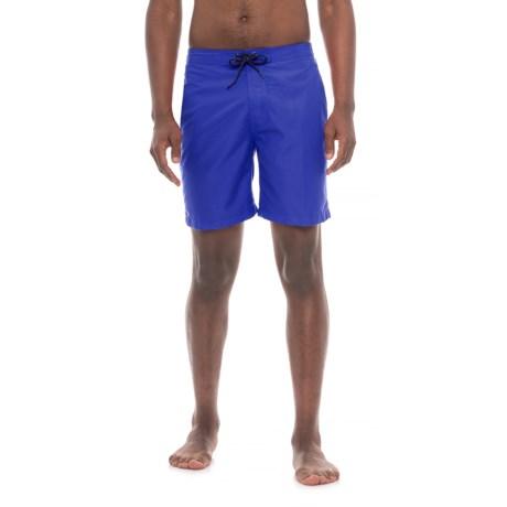 """Trunks Surf & Swim Co Swami Solid Swim Trunks - 8"""" (For Men)"""