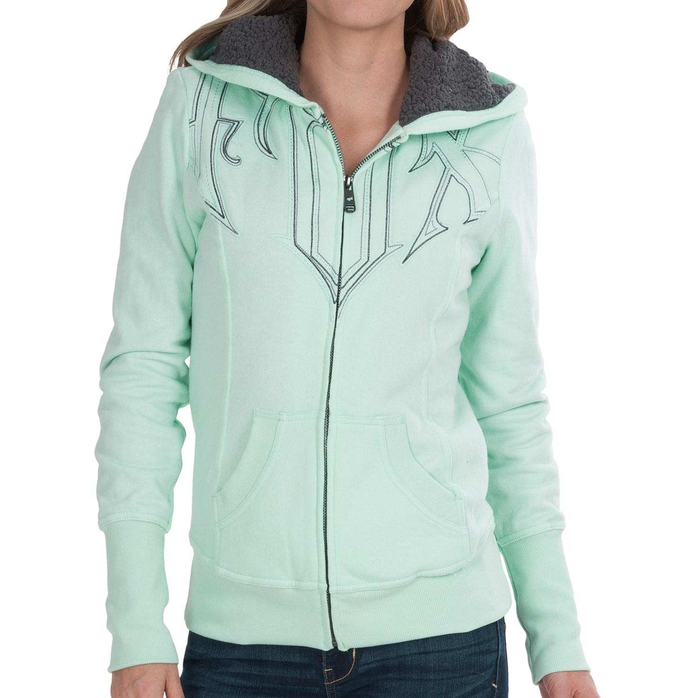 Girls sherpa hoodie