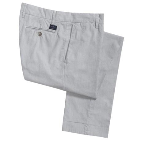Mason's Cuffed Narrow Stripe Pants - Slim Fit (For Men)