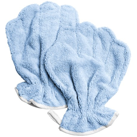 Bone Dry Microfiber Drying Mitts - Set of 2