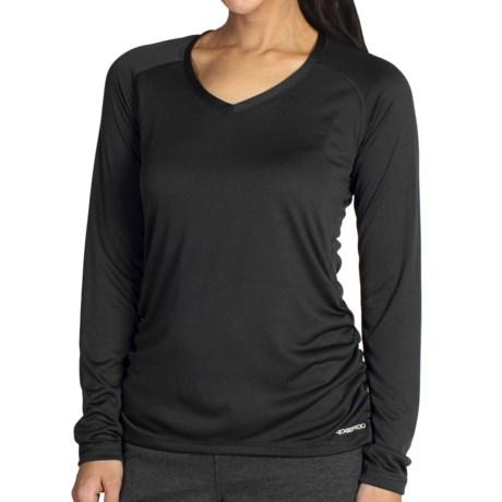 ExOfficio Micria Shirt - UPF 15+, V-Neck, Long Sleeve (For Women)