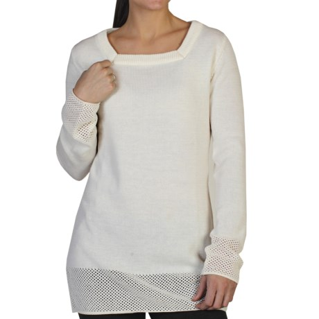 Nice and dressy tunic sweater. - Review of ExOfficio Cafenista ...