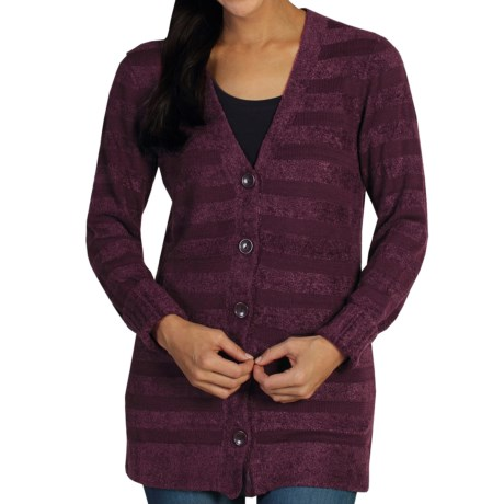 ExOfficio Irresistible Dolce Stripe Cardigan Sweater (For Women)