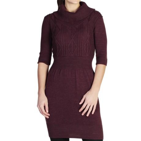 ExOfficio Cafenista Sweater Dress - 3/4 Sleeve (For Women)