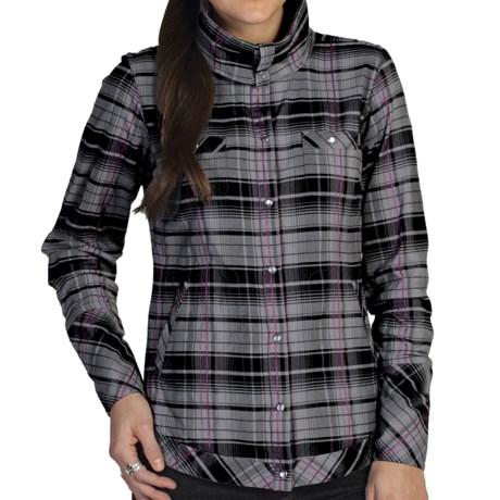 ExOfficio Alba Plaid Shirt - Long Sleeve (For Women)